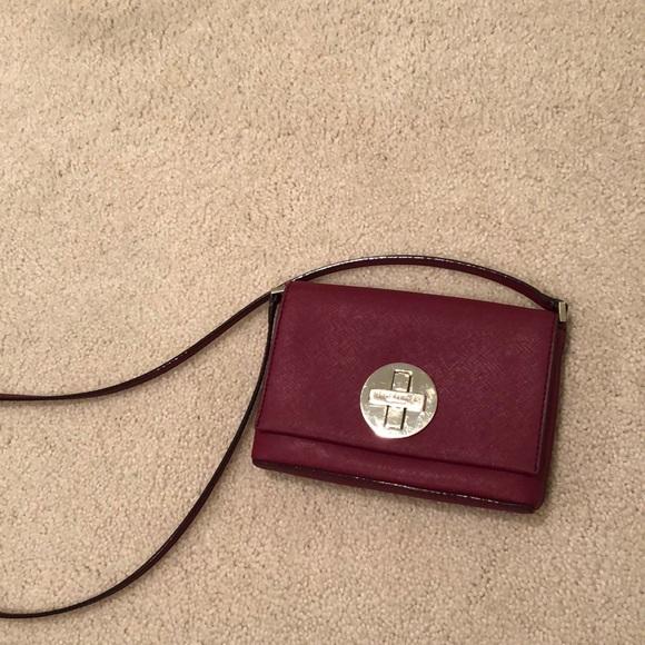 kate spade Handbags - Maroon Kate Spade Newbury Lane Crossbody
